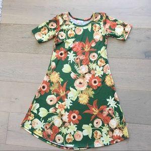 Floral Lularoe Adeline dress